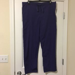 Size Medium Purple Cherokee Scrub Pants